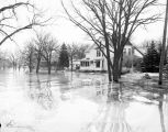Residential area, basements flooded, Fargo, N.D.