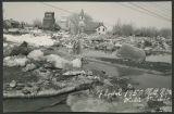 Ice floe and flood, Mott, N.D.