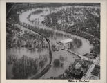Aerial view of flooding, Grand Forks, N.D.