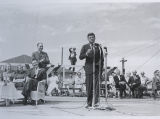 John F. Kennedy speaking at Quentin Burdick's birthday party, Fargo, N.D.