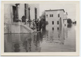 Mandan Post Office under water, Mandan, N.D.