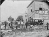 A. S. Anderson carriage shop, Fargo, N.D.