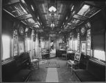 Interior view of Haynes Palace Studio car at Helena, Montana