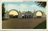 Entrance to Northwest Fair Grounds, Minot, N.D.