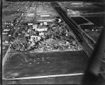 Aerial of University of North Dakota looking east, Grand Forks, N.D.