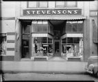 Stevenson's store window display, Fargo, N.D.