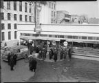 Red Owl Supermarket during flood of 1943, Fargo, N.D.