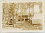 Cabin in the woods, Lake Metigoshe, N.D.