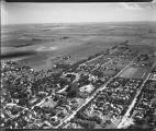 Aerial over south Moorhead, Minn.