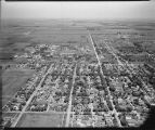 Aerial over north Fargo, N.D.