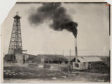 Townley oil drilling camp near Robinson, No.Dak.