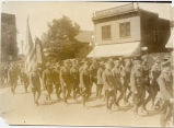 N.D. National Guard Company B, returns to Fargo, N.D. after World War I
