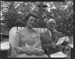 Dr. Frederic G Hubbard and his wife Olga, Forman, N.D.