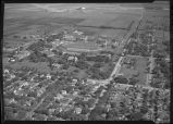 Aerial over North Dakota Agricultural College, Fargo, N.D.