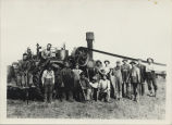 Detwiller Brothers threshing rig