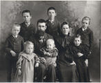 John D. Soper family, Soper Post Office, North Dakota