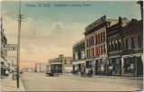 Fargo, N.Dak. Broadway looking north