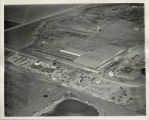Aerial view of West Fargo Union Stockyards
