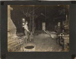 Blacksmith shop of Sam Sansburn and Robert Pratt, Cooperstown, N.D.