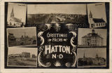 Greetings from Hatton, N.D.