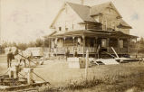 Adam Rodacker house, near Fessenden, N.D.