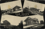 Four depots, Fairmount, N.D.
