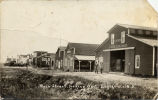 Main Street, looking west, Englevale, N.D.
