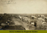 Birds eye view of Eckelson, N.D.