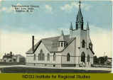 Transfiguration Church, Rev. John Duffy, Edgeley, N.D.