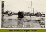 Flood at Beach, N.D., June 7, 1929