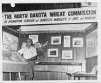 Benjamin Barrett in exhibit for the North Dakota Wheat Commission