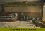 Portion of lobby showing Cigar Department, Frederick Hotel, Grand Forks, N.D., Fred Bartholomew, owner