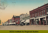 Front St. looking west, Casselton, N.D.