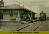 Northern Pacific passenger station, Goodrich, N.D.