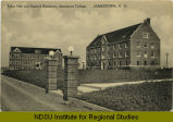 Taber Hall and Sanford Dormitory, Jamestown College, Jamestown, N.D.