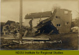 After cyclone, Jamestown, N.D.
