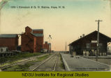 Elevators & G.N. Station, Hope, N.D.
