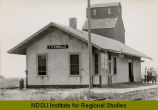 Litchville, N.D. Railroad station