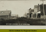 Street view looking north, Great Bend, N.D.