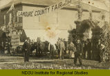 Grand arch at fair of 1912, La Moure, N.D.