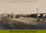 R.R. shops at Mandan, N.D.