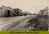 Main Street looking north, Van Hook, N.D.