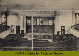 Interior view of the Normal Auditorium, Valley City, N.D.