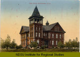 High School, Minnewaukan, N.D.