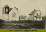 Cong. Church and parsonage, Maxbass, N.D., Rev. W. A. Whitcomb, pastor
