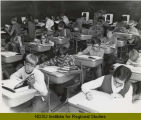 Students at desks, Fargo Public Schools, Fargo, N.D.