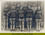 High School basketball team, Wahpeton, N.D.