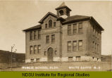 Public School Bldg. White Earth, N.D.