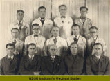 Instructors at Hanson Mechanical Trade School, Fargo, N.D.