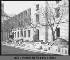 Front facade of Post Office and Federal Building, Fargo, N.D. under construction